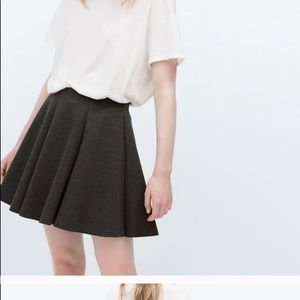 Zara mini skirt.